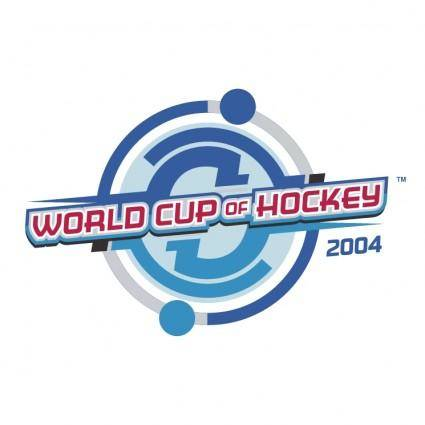 free vector World cup of hockey 2004 0