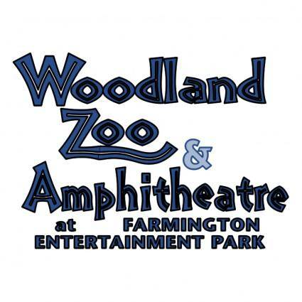 free vector Woodland zoo amphitheatre