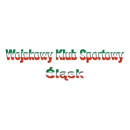 free vector Wojskowy klub sportowy slask