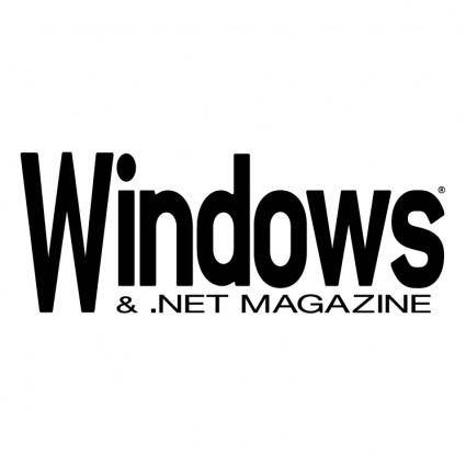 free vector Windows net magazine
