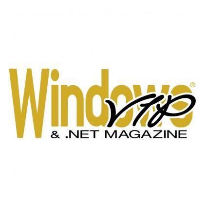free vector Windows net magazine vip