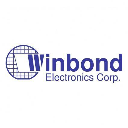 free vector Winbond electronics corp