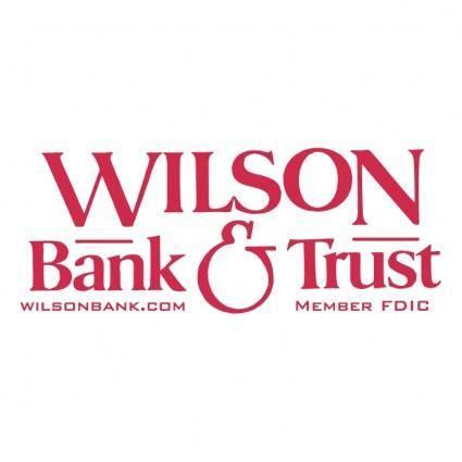 Wilson bank trust