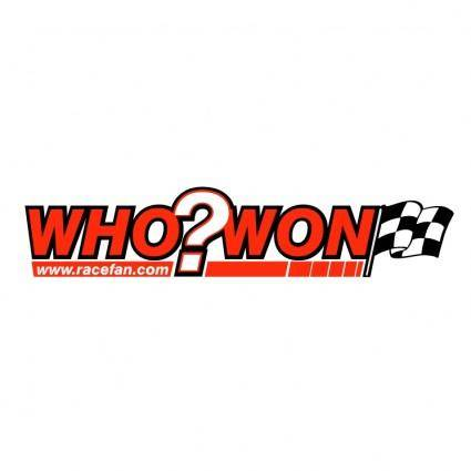 Who won racing