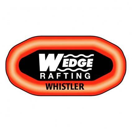 Wedge rafting