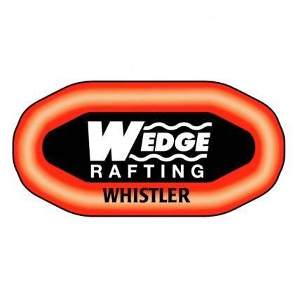 free vector Wedge rafting
