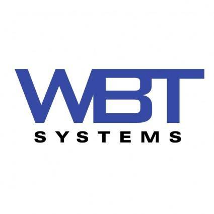 free vector Wbt systems