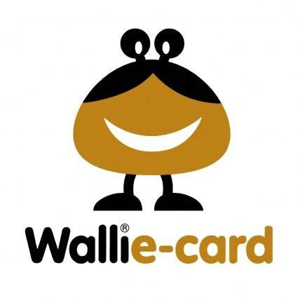 free vector Wallie card