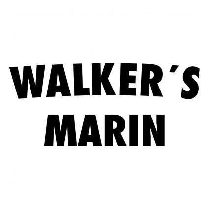 free vector Walkers marin