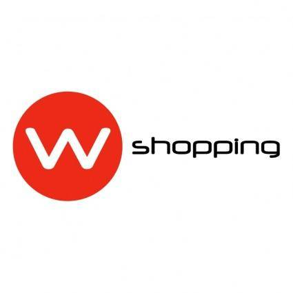 free vector W shopping