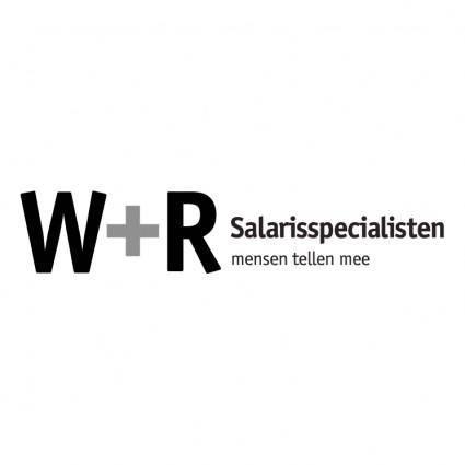 free vector W r salarisspecialisten