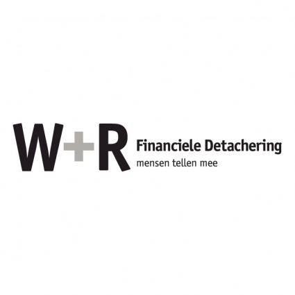 W r financiele detachering