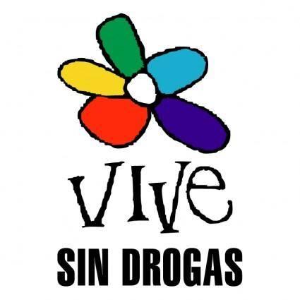 free vector Vive sin drogas 0