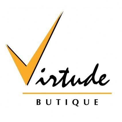 free vector Virtude butique