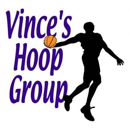 free vector Vinces hoop group