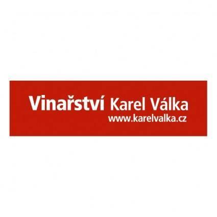 free vector Vinarstvi karel valka