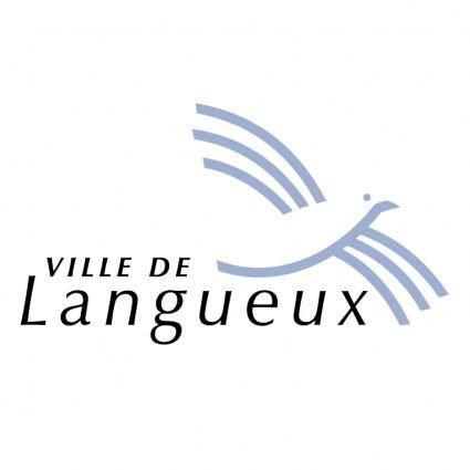 free vector Ville de langueux