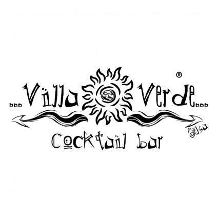 free vector Villa verde