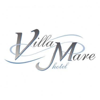 free vector Villa mare