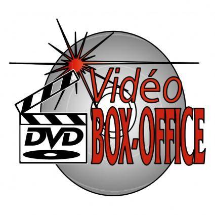 free vector Video box office