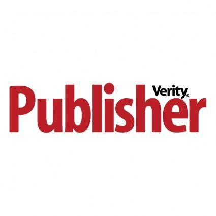 Verity publisher