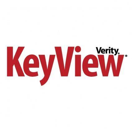 Verity keyview