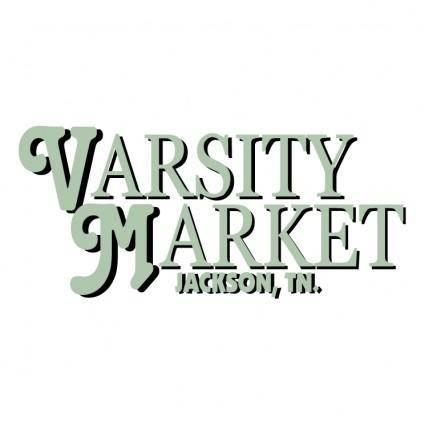 free vector Varsity market