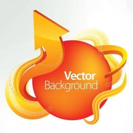 free vector Dynamic arrow 03 vector
