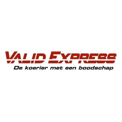 Valid express