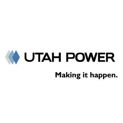 free vector Utah power