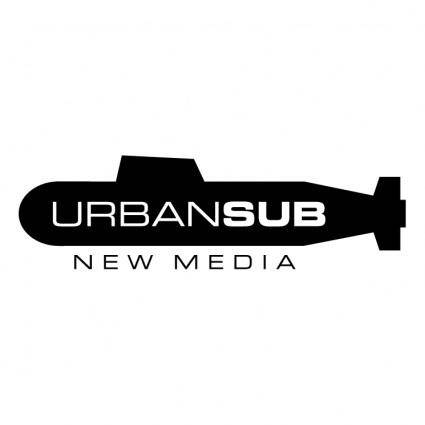 free vector Urban sub new media