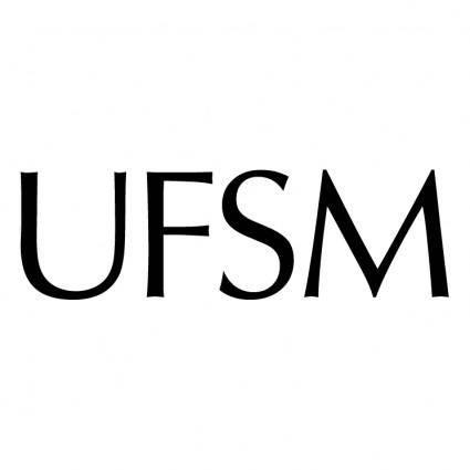 free vector Universidade federal de santa maria 2