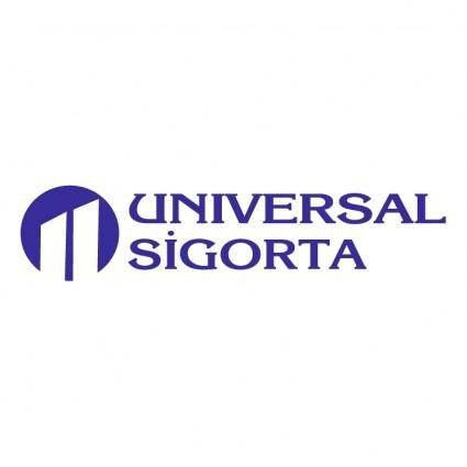 free vector Universal sigorta