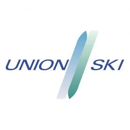 free vector Union ski