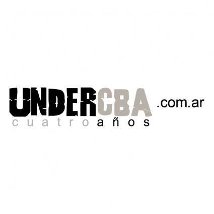 free vector Undercba
