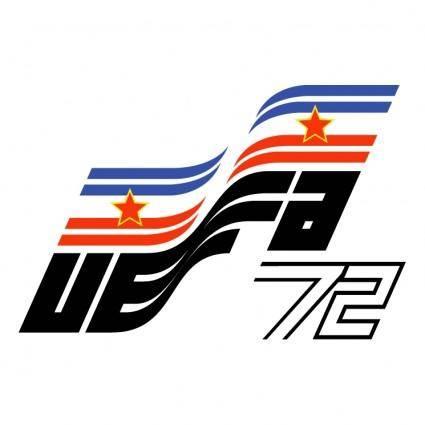 free vector Uefa euro 72 yugoslavia