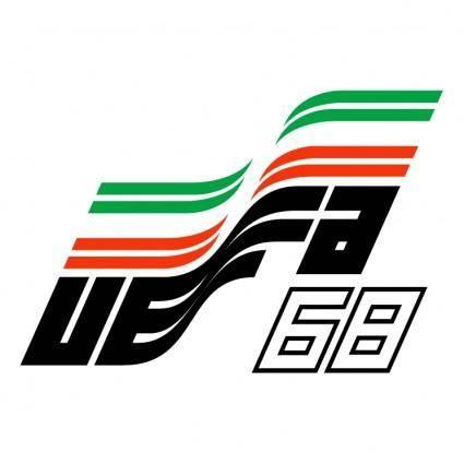 free vector Uefa euro 68 italy