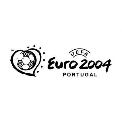 free vector Uefa euro 2004 portugal 20