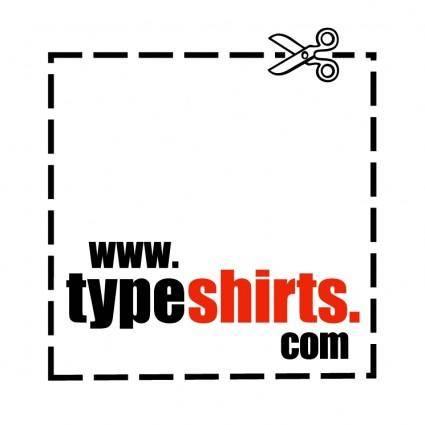 Typeshirts