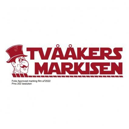 Tvaakers markisen