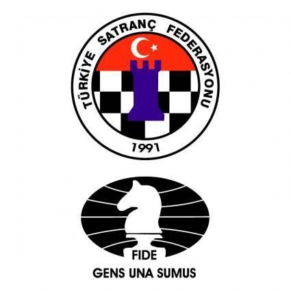 free vector Turkiye satranc federasyonu