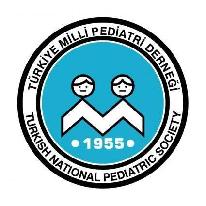 free vector Turkiye milli pediatri dernegi