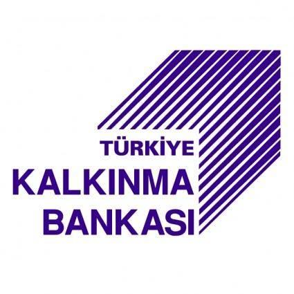 free vector Turkiye kalkinma bankasi