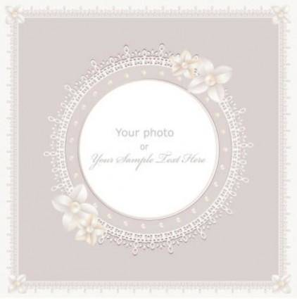 Exquisite gift tag 05 vector