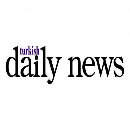 free vector Turkish daily news