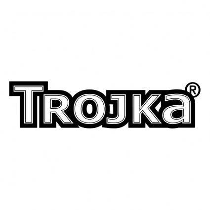 free vector Trojka vodka