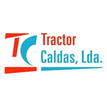 free vector Tractor caldas