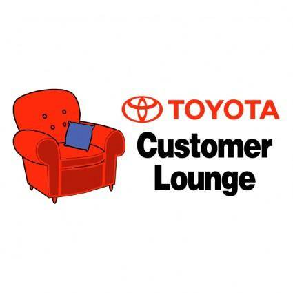Toyota customer lounge