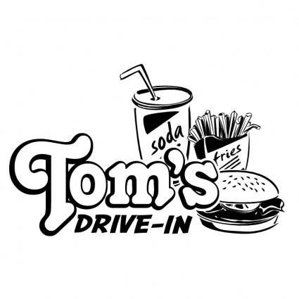 free vector Toms drive in