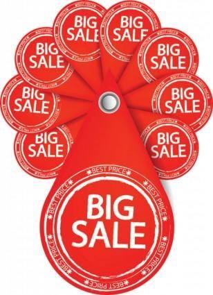 Special sales discount graphic design vector 4